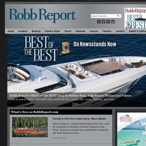 Robb Report Portfolio