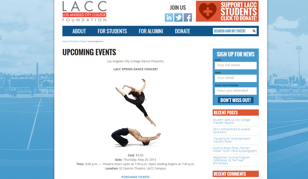 LACC- Blog Feature