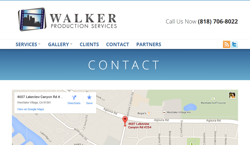 Walker Production Services form